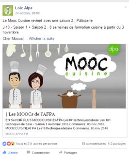 a table ! mooc afpa (saison 2) | miss mooc.paris