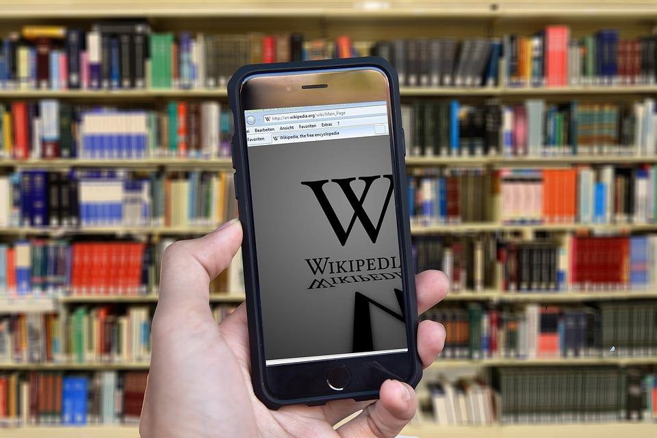 Economie du savoir, wikipedia excellente illustration